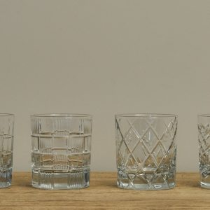 Set of 4 Whisky Glasses