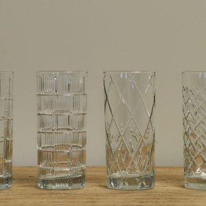 Set of 4 Longdrink Glasses