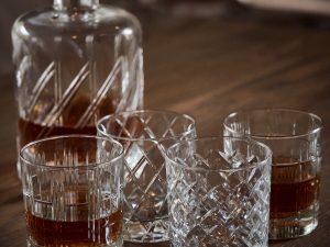 Set of 4 Whisky Glasses