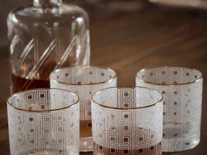 Whisky glasses GEO