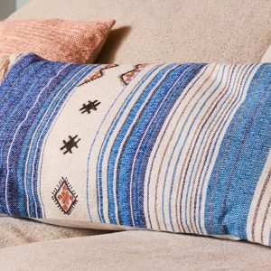 Cushion – Ethnic Blue/Beige