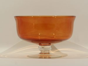 Glass Bowl – Ingrid Red/Orange