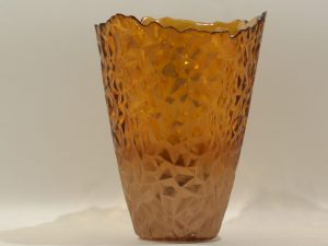 Topaz Vase Burned Orange