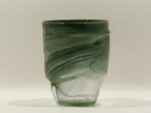 Organic Vase Green