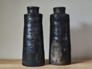 Black Potterie Vase 30/34