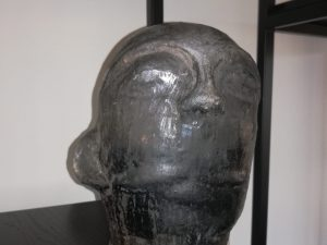Black pottery Head Man