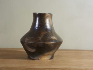 Black pottery Vase Berber