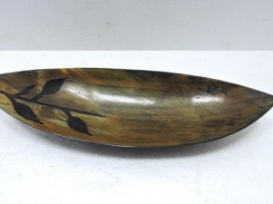 Bowl in Horn Leaf sm