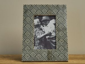 Photo frame Ethnic IvoryBlack