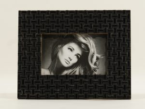 Photo frame Black stones sm