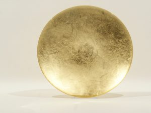 Plate Glass Solid Gold