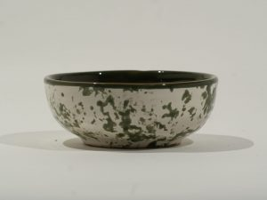 Bowl SM Olive Mottled