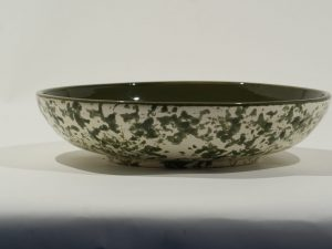 Salad Bowl MM Olive Mottled