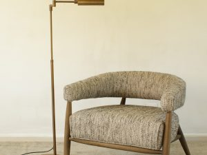 Floor lamp Swindon Bronze Meda