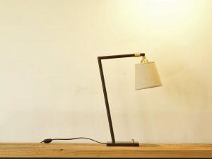 Desk lamp Georgie Bronze/Brushed Brass