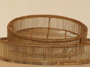 Trays Aran Round Set of 2