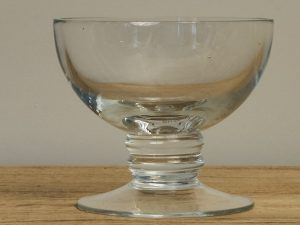 Fruit bowl glass Ringling15cm