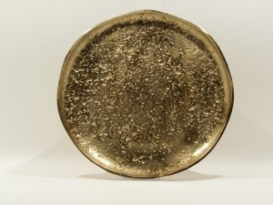 Tray Round Alugold