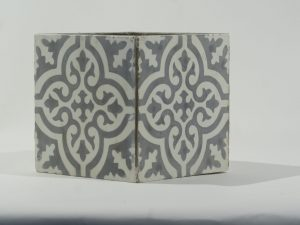 Planter Square Tile Iraqi Grey