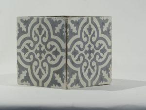Planter Square Tile Iraqi Grey