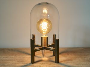 Lamp Cloche Matt Brass plating