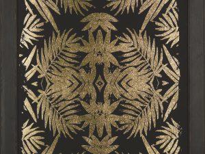 Frame gold foil kaleidoscope 1