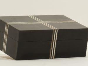BOX – RECTANGULAR BLACK CROSS