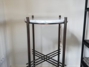 Pedestal round 3pipe cararra white