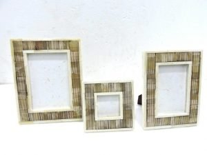 Photo frame Carving Bone mm