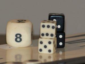 Backgammon B/W