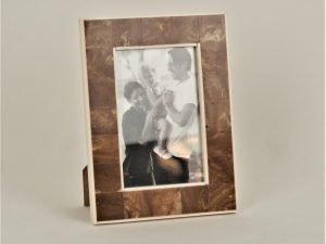 Photo frame WOOD/BONE SM