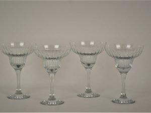 Margheurita glass Gracera set of 4