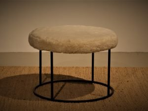 Coffee table Pouf Derling Milawool Brown