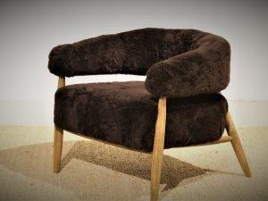 Chair – Oakben MILAWOOL BROWN