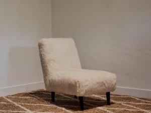Chair – Angola Milawool White