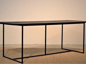 Dining Table Scandi 220CM 90CM BLACK