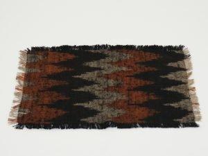 Place mat IKAT BLACK